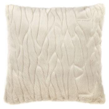 """Coleen Faux Fur Decorative Pillow 19"""" X 19"""""""