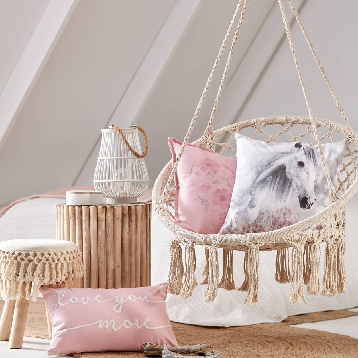 """Love You More Decorative Lumbar Pillow 13"""" x 20"""""""