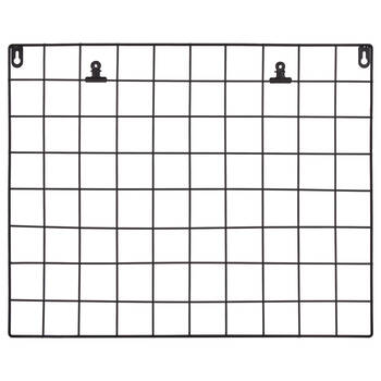 Metal Wall Grid with Clips
