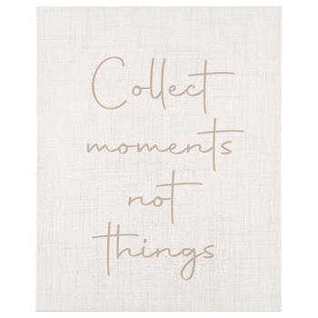 Collect Moments Printed Canvas