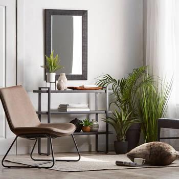 Miroir avec cadre texturé