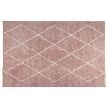 Tapis à motif de diamants