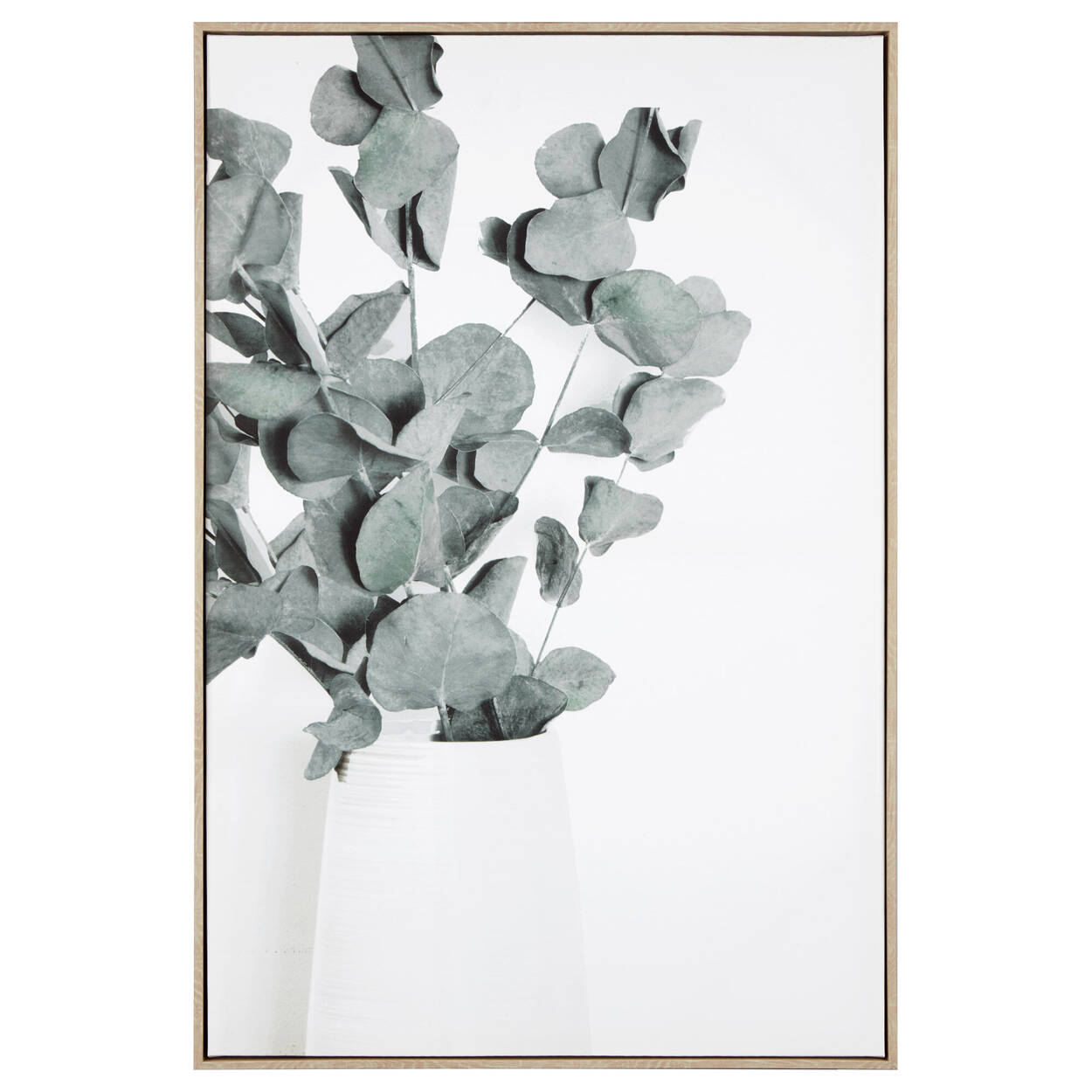 Cadre imprimé eucalyptus
