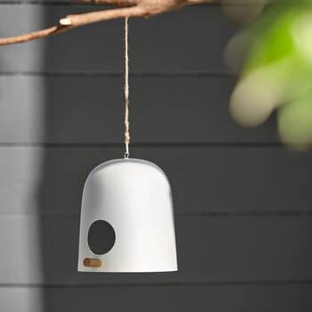 Modern Iron Birdhouse