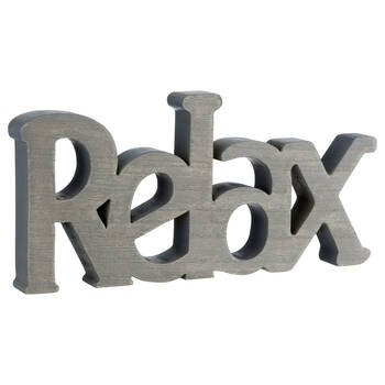 Decorative Word Relax
