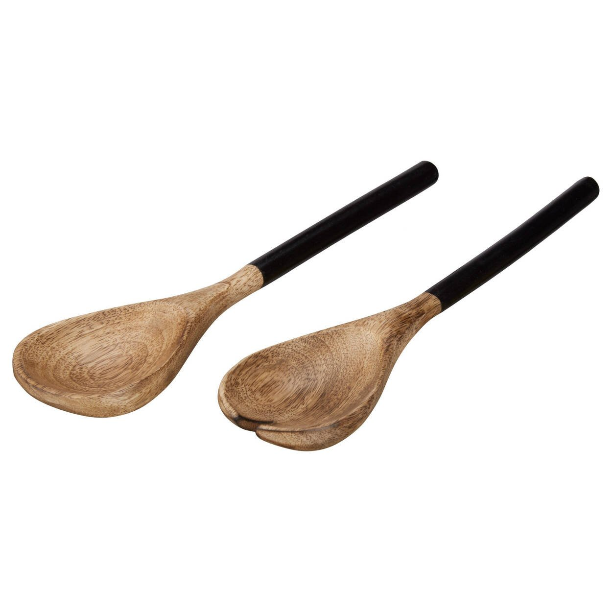 Set of 2 Mango Wood Service Utensils