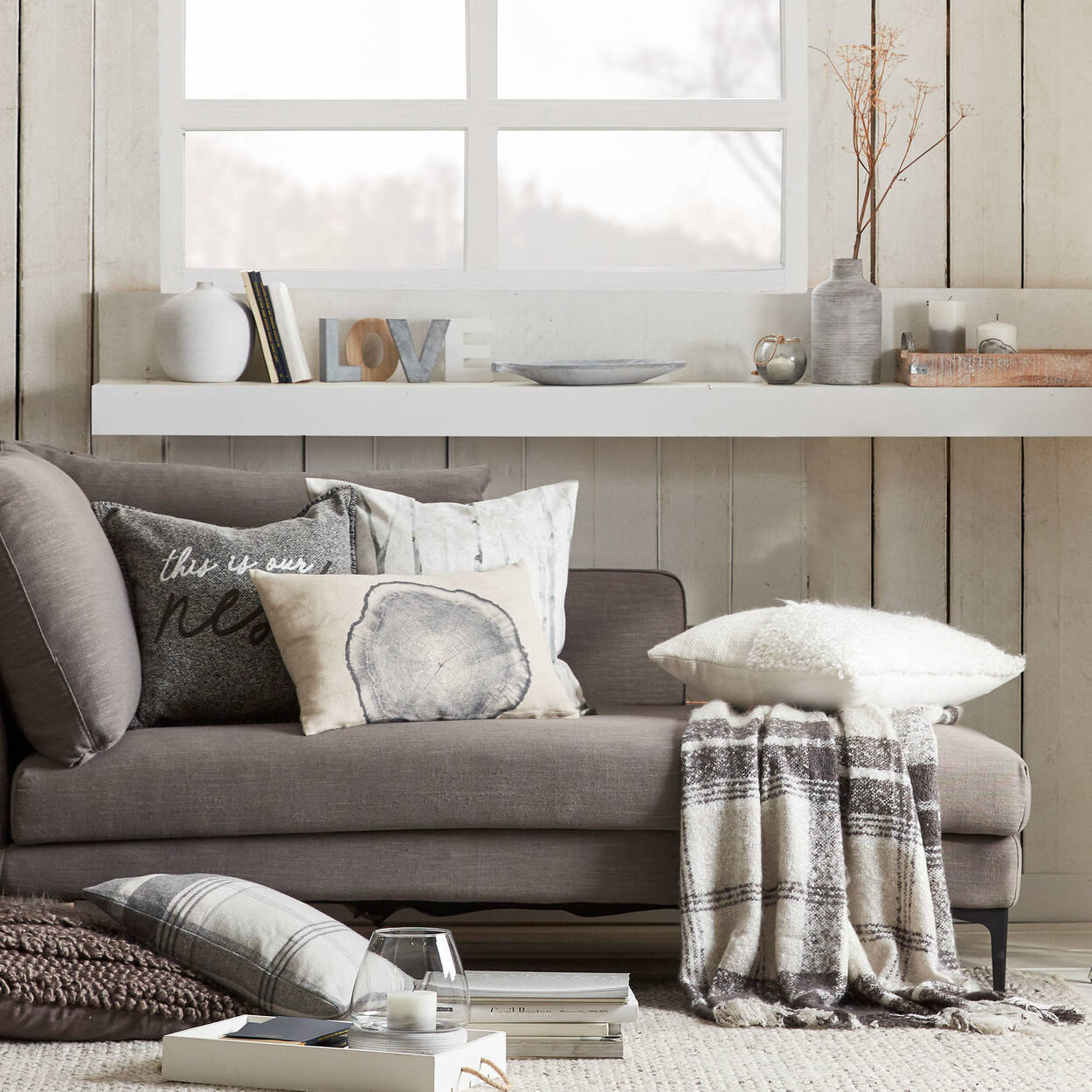"Nest Decorative Pillow 19"" X 19"""