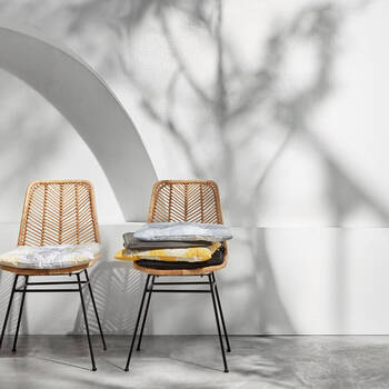 Coussin de chaise ananas