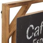 Café Bar Wood Wall Art