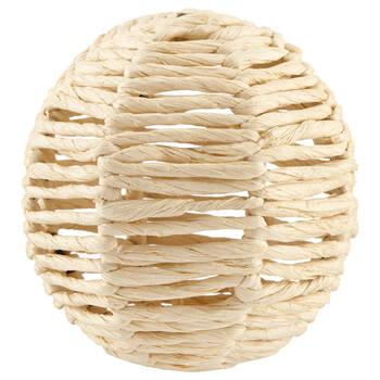Balle décorative en corde naturelle