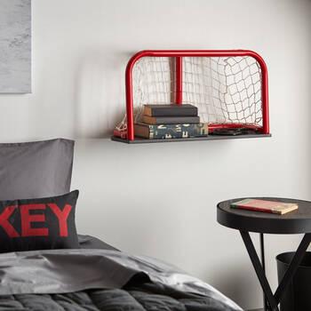 Hockey Net Shelf