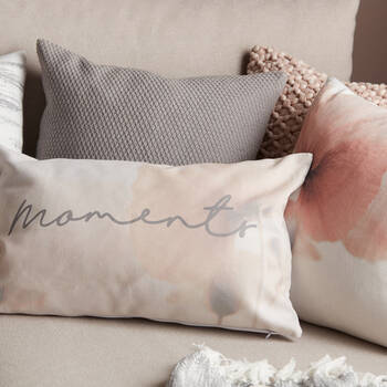 "Moments Decorative Lumbar Pillow 14"" x 22"""