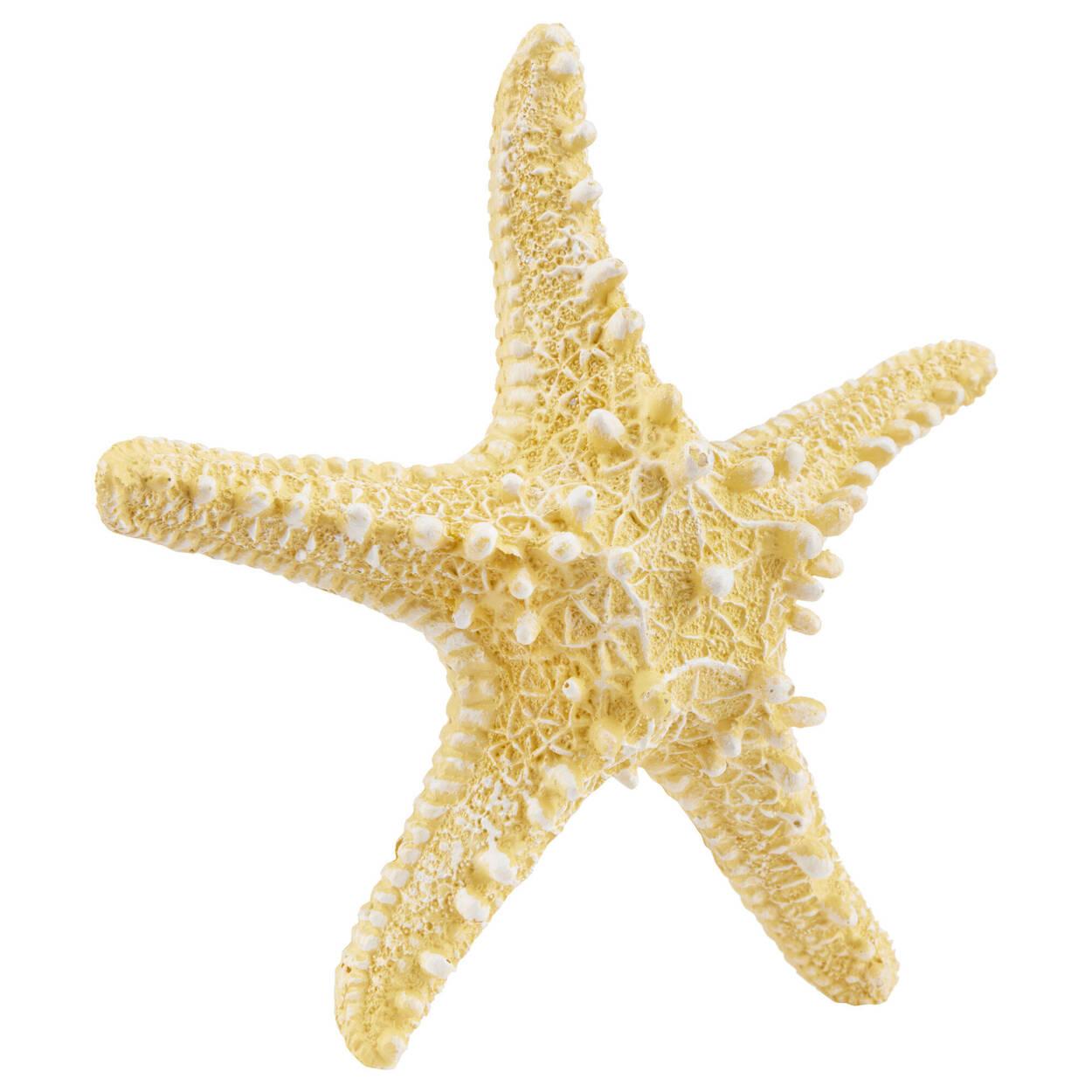 Yellow Decorative Resin Starfish