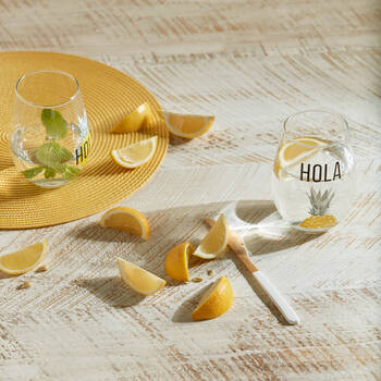Set of 2 Hola Glasses