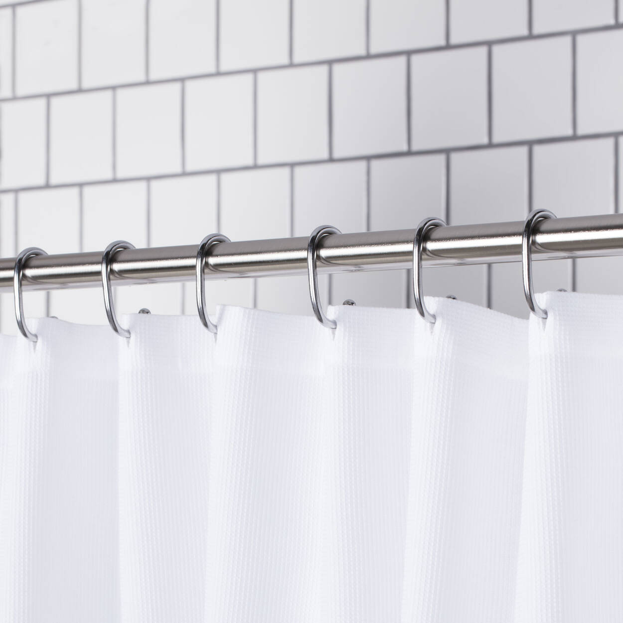 Set of 12 Shower Curtain Hooks