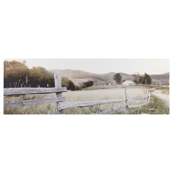 Rural Landscape Printed Canvas