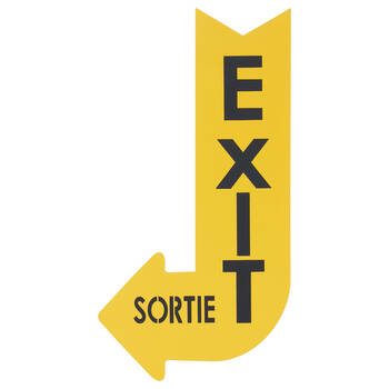 Exit Sign Wall Art