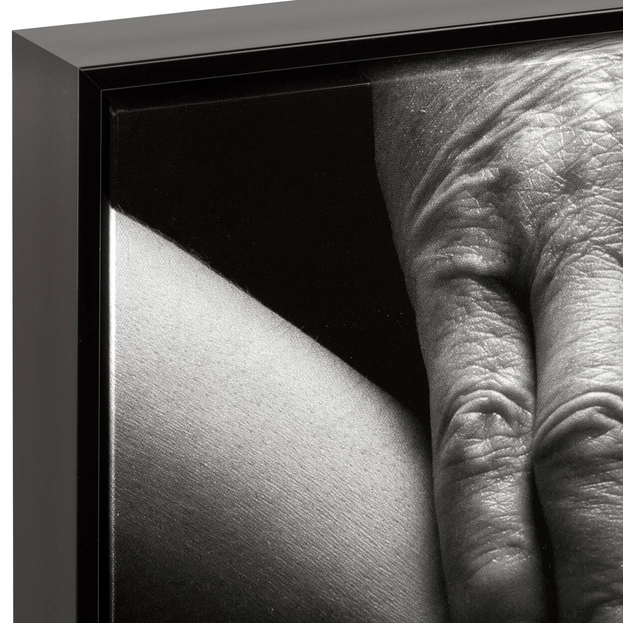 Hands Framed Art