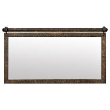 Barn Wood Inspired Mirror