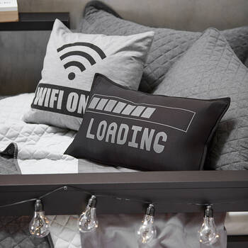"Wi-Fi Decorative Pillow 18"" X 18"""