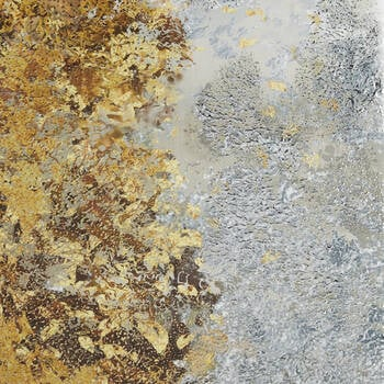 Gel Embellishment Abstract Forest Canvas