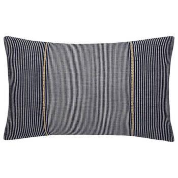 """Kinsley Embroidered Decorative Lumbar Pillow 14"""" X 22"""""""