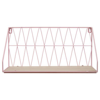 Metal Wire Wall Shelf