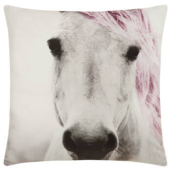 "Jasna Horse Decorative Pillow 19"" X 19"""
