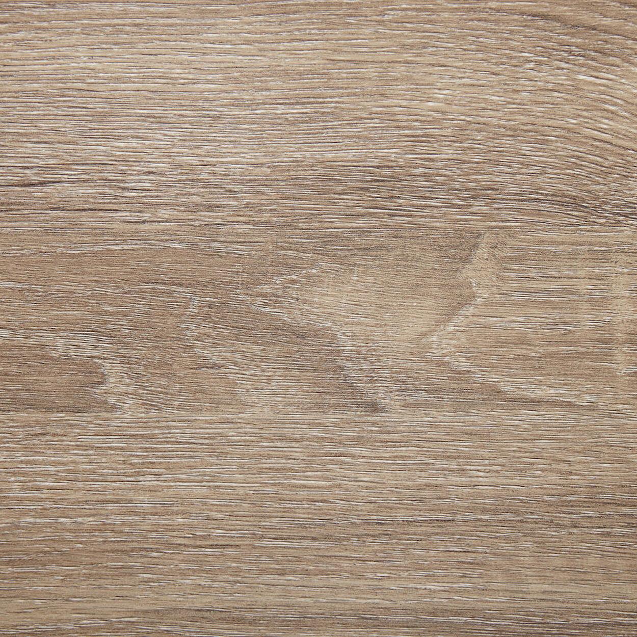 Wood Veneer & Metal Media Console