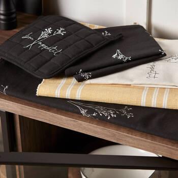 Set of 2 Printed Floral Kitchen Towels