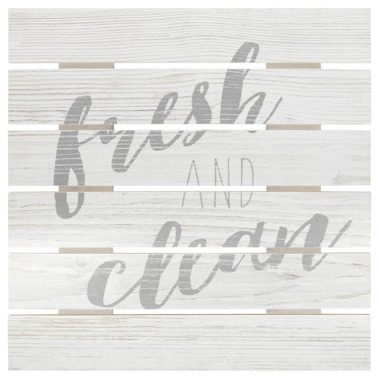 Fresh and Clean Wood Wall Art