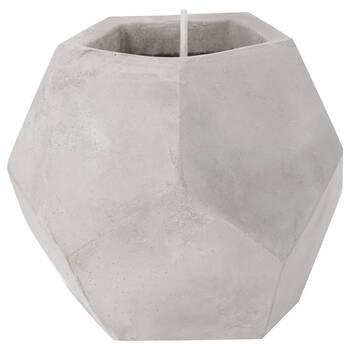 Chandelle géométrique en ciment