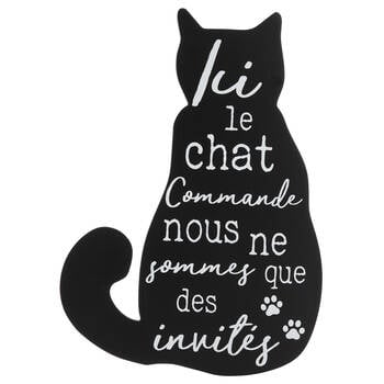 Ici le Chat Wall Decor
