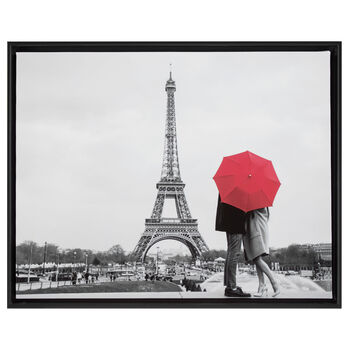 Under The Umbrella Printed Framed Art
