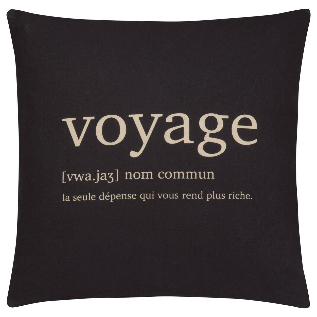 "Voyage Decorative Pillow Cover 18"" X 18"""