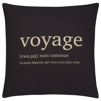 "Voyage Decorative Pillow Cover 18"" X 18"""