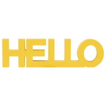 Mot décoratif Hello