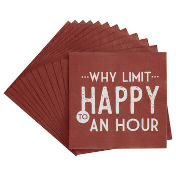 Pack of 20 Why Limit Paper Napkins
