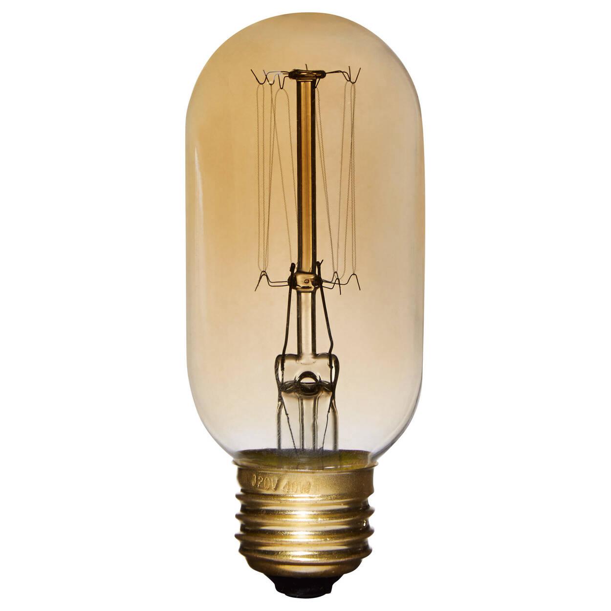 Vintage Edison Tubular Light Bulb