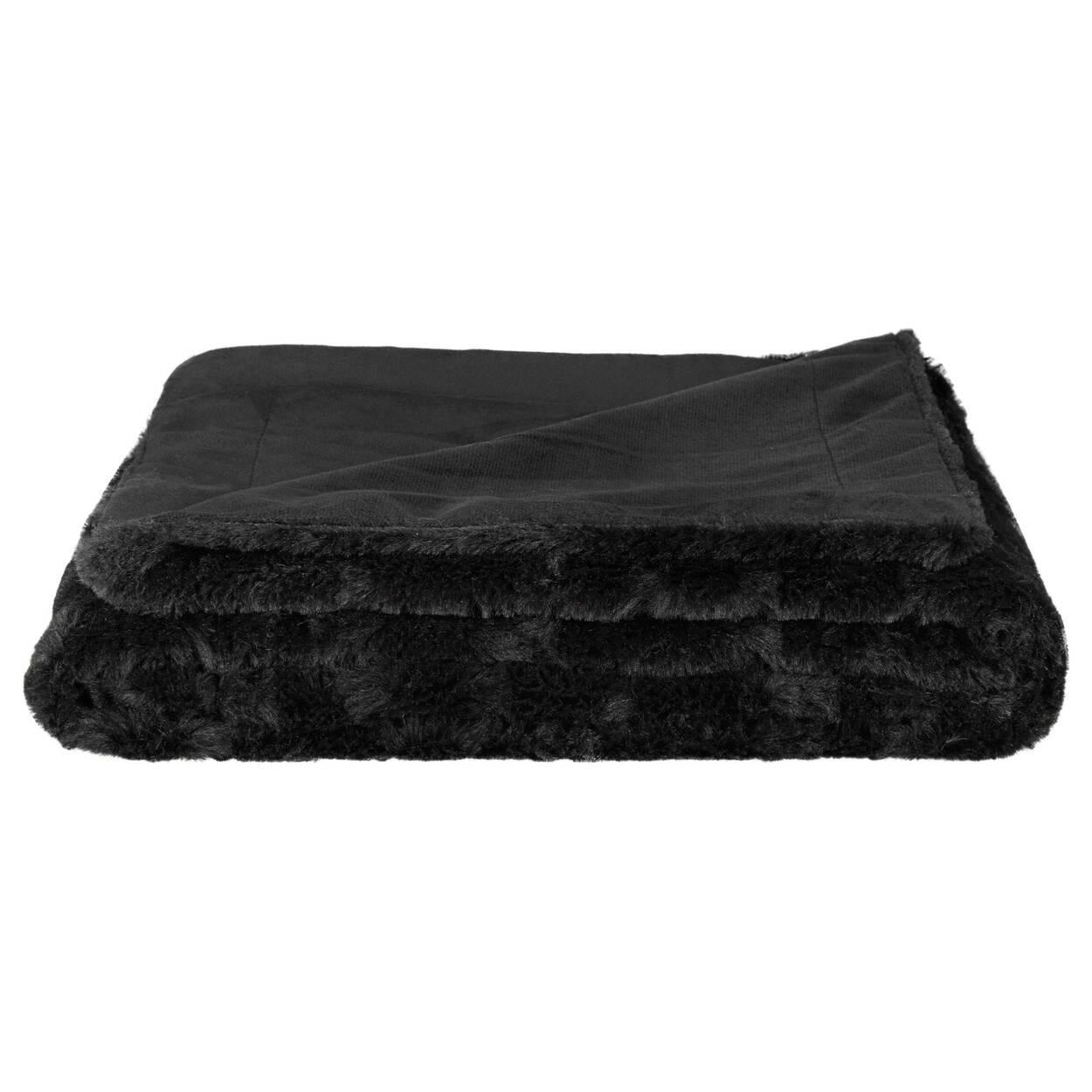 jet en fausse fourrure de lapin kilis 50 x 60. Black Bedroom Furniture Sets. Home Design Ideas