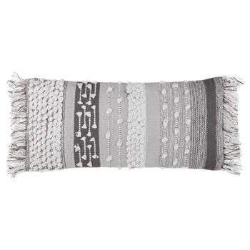 """Sheila Decorative Lumbar Pillow 12"""" x 26"""""""