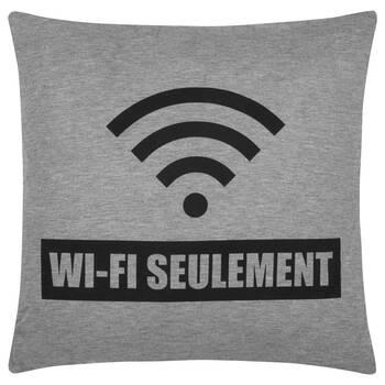 """Coussin décoratif Wi-Fi 18"""" X 18"""""""