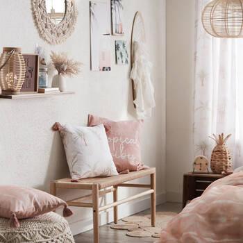 "Deana Tropical Vibes Decorative Pillow 18"" X 18"""