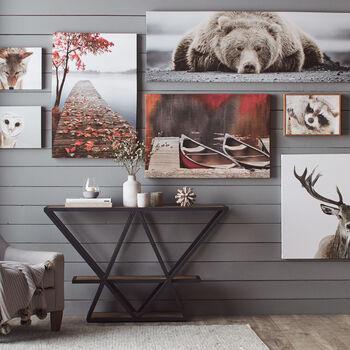 Deer Printed Canvas