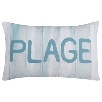 "Beach Decorative Lumbar Pillow 13"" X 20"""