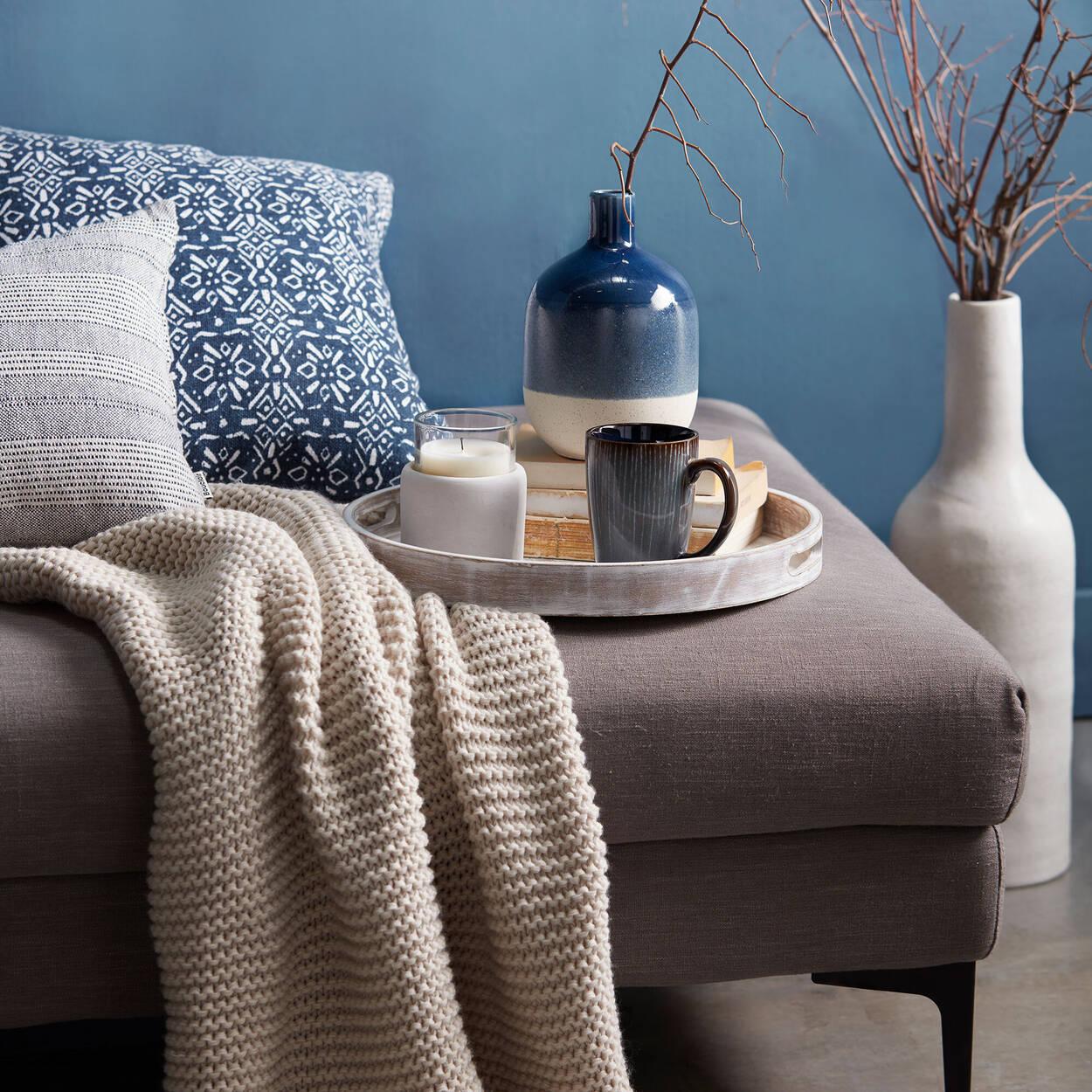 """Sumi Decorative Lumbar Pillow 14"""" X 21"""""""