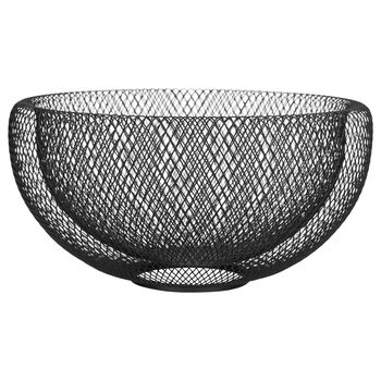 Decorative Metal Mesh Bowl