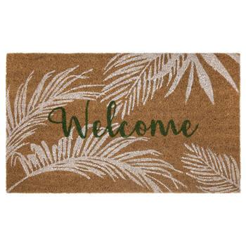 Welcome Tropical Doormat