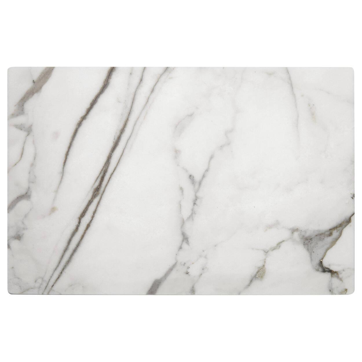 Assiette de service en marbre