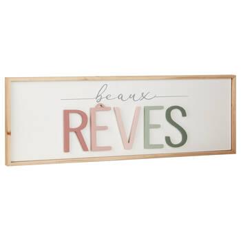 Decorative Plaque Beaux Rêves